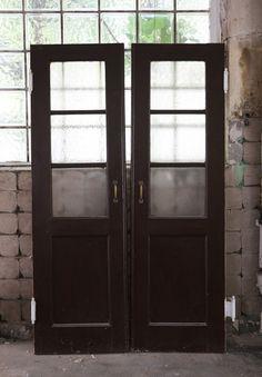 Tür antik Schwingtür in Antiquitäten & Kunst, Historische Baustoffe, Bauelemente | eBay
