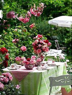 A very special tea party.