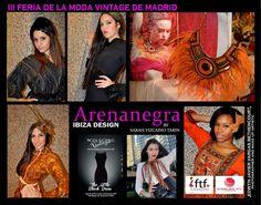 Arenanegra,Ibiza Desing junto con  Ibiza Vintage Bazaar.  By Sarah Vizcaíno Tarín  Feria de moda vintage en Moda Shopping Madrid