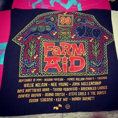 Farm Aid  t-shirt.