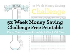 52 Week Money Saving Printable