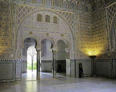Bedroom of Moorish Kings, Mudejar Palace of Pedro I
