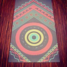 Gray Mandala Yoga Mat! #laviebohemeyoga