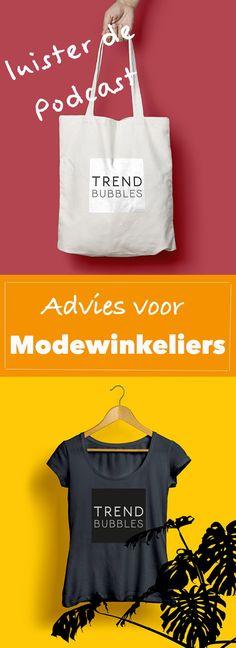 Luister naar de podcast met advies voor modewinkeliers en retailers. Een podcast interview met @mirjamvanrees  | | trendbubbles.nl