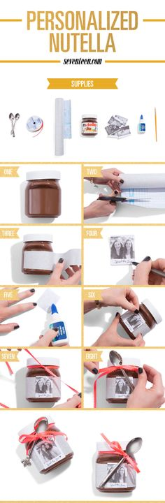 How to Make Personalized Nutella