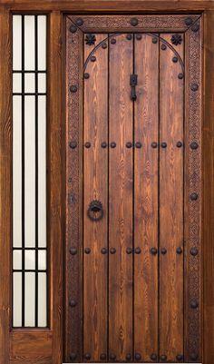 Puertas Rusticas | Mallorca Windows Door Design Interior, Main Door Design, Wooden Door Design, Big Doors, Small Doors, Cool Doors, Wooden Front Doors, Rustic Doors, Spanish Front Door