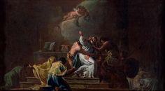 Muerte de San Alberto de Jerusalén por Goya