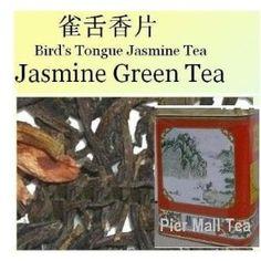 All Natural Chinese Jasmine Green Tea Loose Tea - 8.0 Oz - Whole Leaf Loose Tea