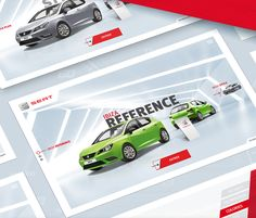 "다음 @Behance 프로젝트 확인: ""Seat Digital Showroom""…"