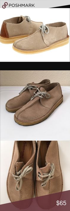 907dcc4107e Clarks Desert Trek Clarks Desert Trek come in a tan suede and have been  worn 4