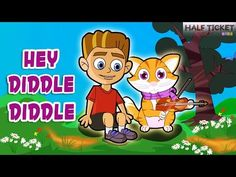 #HeyDiddleDiddle! Is that a cat playing a fiddle? :D #nurseryrhymes #kids