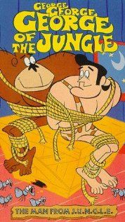 Find more tv shows like George of the Jungle to watch, Latest George of the Jungle Trailer, An anthology of Jay Ward cartoon creations, featuring a dumb ape man and his friends. Jungle Cartoon, Cartoon Tv, Vintage Cartoon, Vintage Comics, Vintage Tv, Retro Cartoons, Old Cartoons, Classic Cartoons, 1960s Tv Shows