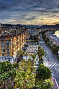 Sunrise on Cote d'Azur ~ Nice