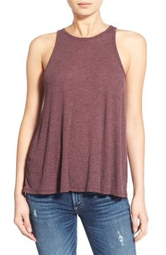 Free shipping and returns on Sun & Shadow Rib Knit Tank at Nordstrom.com. A high neckline and swingy shape make this supersoft, lightweight tank a comfy base layer that also happens to look good solo.