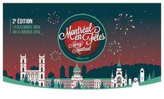 Montréal fête le Nouvel An dans le Vieux-Port