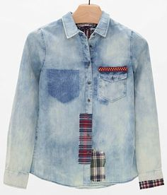 White Crow Washed Shirt - Women's Shirts/Blouses in Indigo | Buckle