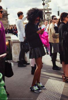 @Nike Women street style.