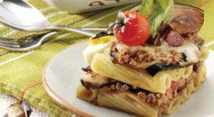 Pasta con sugo di ragù e melanzane | Alice.tv