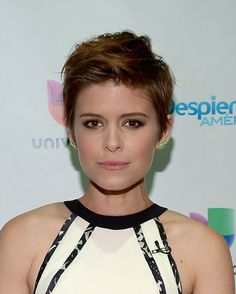 Kate Mara Messy Cut - Short Hairstyles Lookbook - StyleBistro