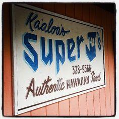 Ka'aloa's Super J's Authentic Hawaiian Food in Captain Cook, HI