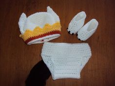 Where The Wild Things are Max inspired baby hat, diaper cover, and booties - CROCHET  - Holiday crafts, Knitting, sewing, crochet, tutorials, children crafts, jewelry, needlework, swaps, papercrafts, cooking and so much more on Craftster.org