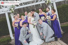 We love this shot from Elizabeth and Matthew's wedding!