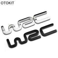 Alloy WRC 3D Metal Auto Car Badge Emblem Sticker for Toyota Yaris Ford Fiat Citroen Audi SUZUKI Volkswagen VW Golf Cruze - $8.99