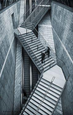 Stairways fascinate me.