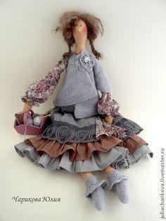Куклы Тильды ручной работы. Ярмарка Мастеров - ручная работа Бохо.Ноябрь.Утро туманное.... Handmade.