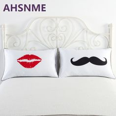 AHSNME 48*74cm high quality 100% cotton pillowcase active printing cute pattern variety of styles 2pcs #Affiliate
