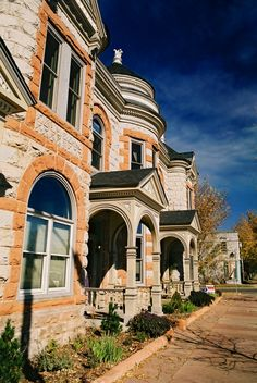 Historic Stout Street in Denver, Colorado