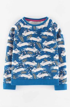 Free shipping and returns on Mini Boden Woodland Animal Print Sweatshirt (Toddler Girls, Little Girls & Big Girls) at Nordstrom.com. A raglan-sleeve sweatshirt is anything but ordinary with a playful woodland-creature motif.