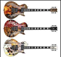 August Burns Red guitars