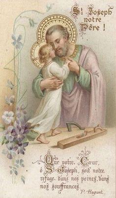 SAN JOSÉ, CUÍDANOS A TODOS COMO CUIDASTE DE JESÚS Y DE SU MAMÁ