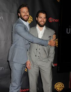 9 Times Henry Cavill And Armie Hammer Were Champion Man-Cuddlers