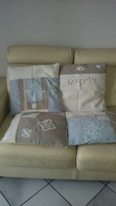 My shabby chic cushions