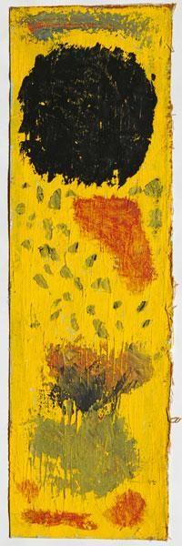 Paul Klee 'Schwarz, noch am Ort' (Black, Still in Place) 1940