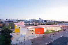 Factoria Joven Skate Park | SelgasCano Architects, Merida, Spain