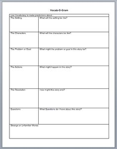 Worksheets Reading Vocabulary Worksheets activities the ojays and vocabulary worksheets on pinterest vocab o gram is a worksheet used to improve skills within reading