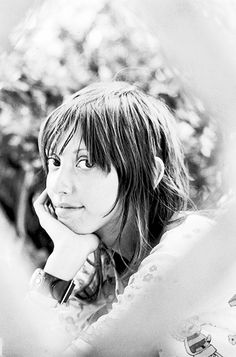 Shelley Duvall on the set of Brewster McCloud,