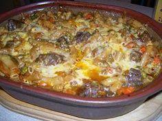 macaroni en boerewors skottel