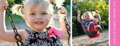 love those sweet swinging pigtails!  #childrensphotography #redwagondesign   www.red-wagon-design.com