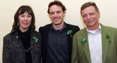 Michael Fassbender with his parents Adelle and Josef. From: http://www.irishexaminer.com/