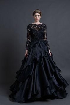 A beautiful  Wedding Gowns from Sareh Nouri