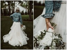 Dream wedding - Love the back, could go without the cuff Megan and Bobby Wedding! The White Sparrow Barn Wedding Goals, Boho Wedding, Wedding Planning, Dream Wedding, Wedding Day, Wedding White, Cowgirl Wedding, Country Wedding Dresses, Bobo Wedding Dress