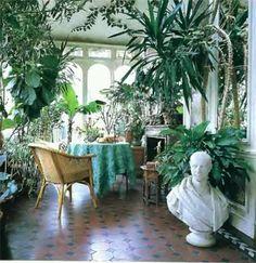 Le jardin d'hiver : un jardin dans la maison en toutes saisons