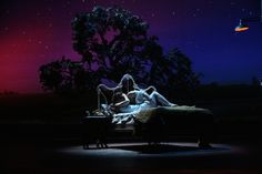 """Kelli O'Hara and Steven Pasquale in """"The Bridges of Madison County"""" (photo: Joan Marcus) via The Broadway Blog."""
