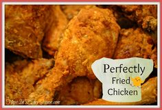 Hope In Every Season: Perfectly Fried Chicken for the Homemaking Party