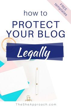 Where To Find Legal Blog Pages For Your Website - Have you taken the time to ensure your new blog is legally compliant? I've invited Dr Lucrezia Iapichino, an international lawyer, to speak on the importance of setting up legal pages on your blog and how to do it right. Write a privacy policy page, a terms and conditions page for your website and a blog disclaimer. #bloggingtips #legaladvice Make Money Blogging, How To Make Money, Blogging Ideas, Business Tips, Online Business, Content Marketing Strategy, Email Marketing, Entrepreneur, How To Protect Yourself