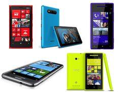 Comparativa de teléfonos con Windows Phone 8